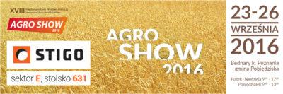 Stigo Agro Show 2016