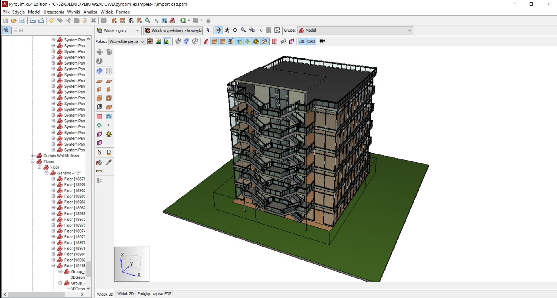 Import geometrii CAD