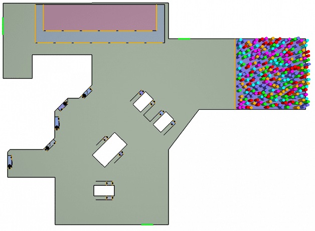 Pathfinder - Model przemieszczenia etap 1