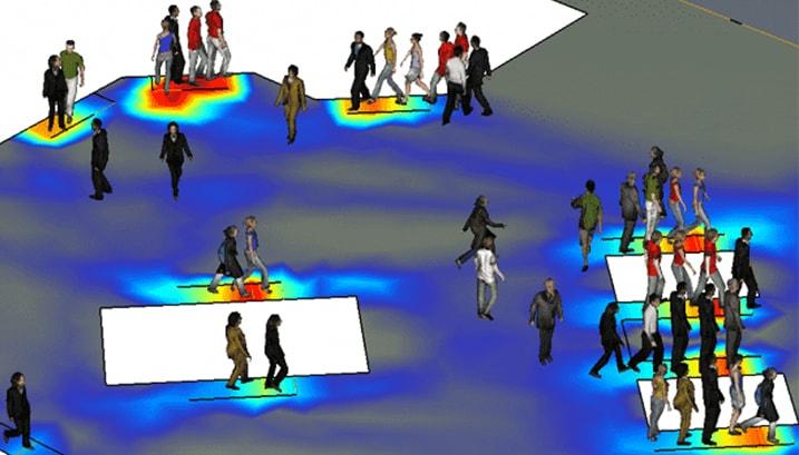 Model przemieszczenia - program Pathfinder