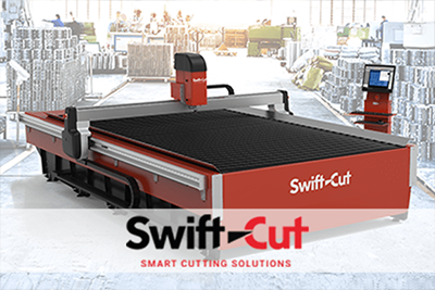 Stoły CNC do cięcia plazmą i wodą Swift-Cut